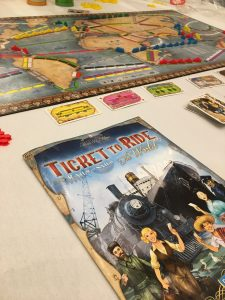 Ticket to Ride Rails and Sails Board Game Play