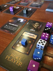 Roll Player Board Game Play